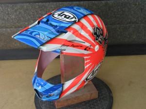2015ヘルメット 虎太郎選手
